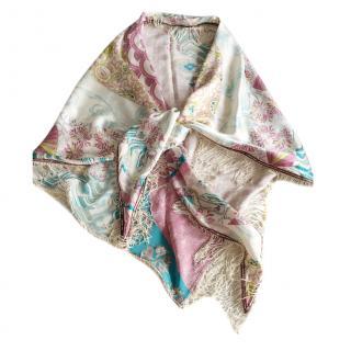 Lolita Jaca Printed Silk Scarf