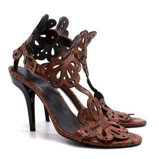 Roger Vivier Lasercut Sandals