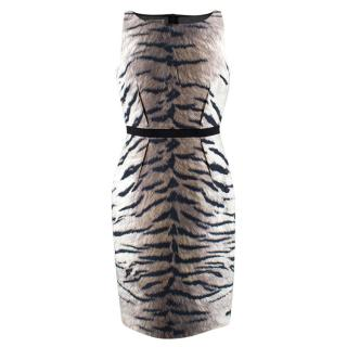 Giambattista Valli Tiger Print Dress
