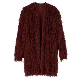 Isabel Marant Abella Fringe Silk Coat