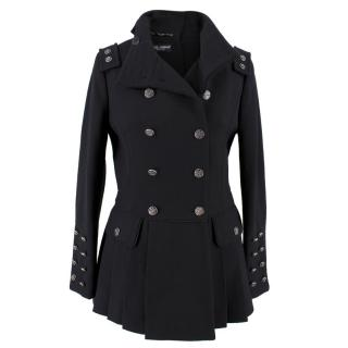 Dolce & Gabbana Wool & Silk Military Jacket