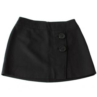 Dolce & Gabbana Black Mini Skirt