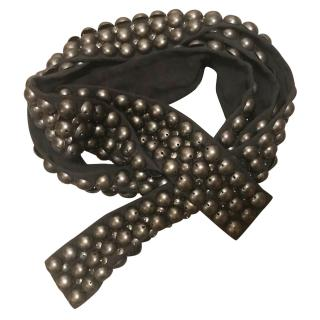 Isabel Marant Silk Studded Belt