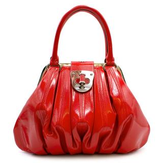 Alexander McQueen Elle Red Bag