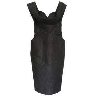 Vivienne Westwood black damask dress