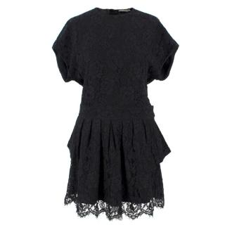 Balenciaga Black Lace Dress