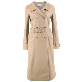 Prada Leather belted Trench