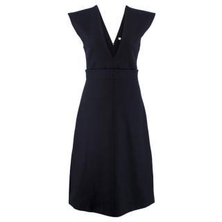Celine Wool A-Line Dress