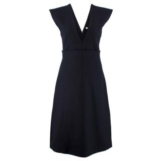 Celine Wool A-Line Dress