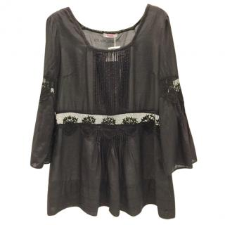 Blumarine Black Silk Tunic