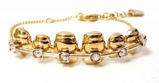 Schield Statement Teeth Braces Bracelet