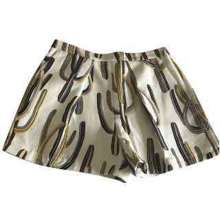 MSGM cactus shorts