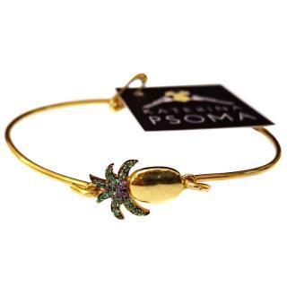 Katerina Psoma 925 Pineapple Bracelet