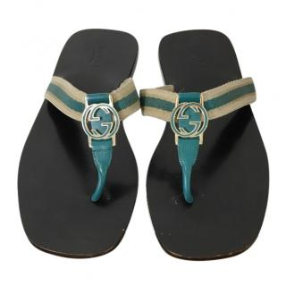GG Thong Web Sandals