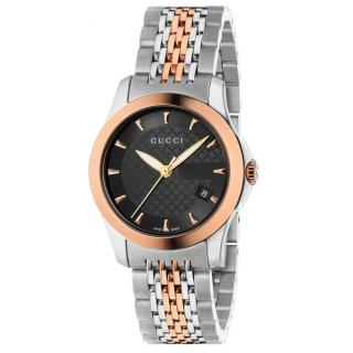 Gucci GG Stainless Steel and Gold Plated Watch