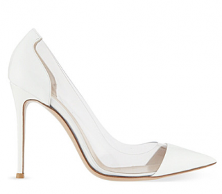 Gianvito Rossi White Calabria Pumps
