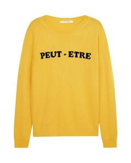 Chinti & Parker Women's Yellow Peut-etre Intarsia Jumper