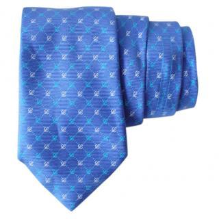 Loewe Blue  Silk Tie