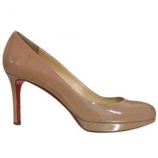 Christian Louboutin Patent Leather Pumps. Size 37
