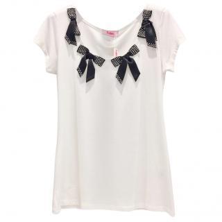 Blumarine Bow T shirt