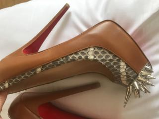 Christian Louboutin Asteriod Snake Shoes