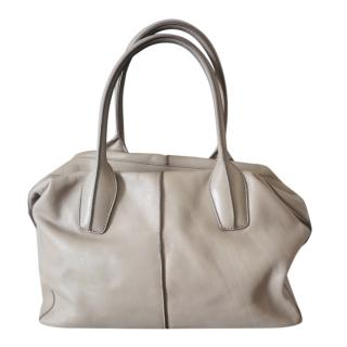 Tod's Taupe Leather DD bag