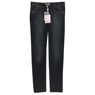 Blumarine Black Corduroy Trousers