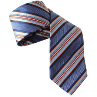 Ermenegildo Zegna Striped Silk Tie