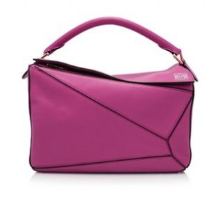 Loewe Pink Puzzle Handbag