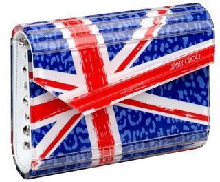 Jimmy Choo Limited Edition Union Jack clutch