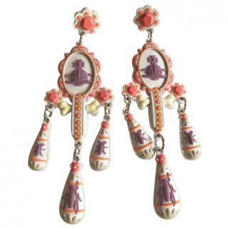 Vivienne Westwood limited edition chandelier earrings