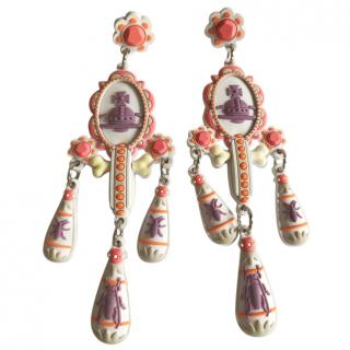 Vivienne Westwood limited edition chandelier earrings