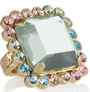 Marc by Marc Jacobs Antoine crystal ring