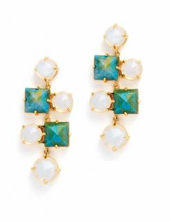 Lele Sadoughi Abacus Chandelier earrings Rrp �165.00