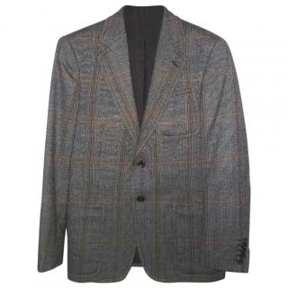 GUCCI Tweed Wool Blazer Jacket
