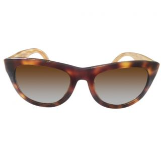 Salvatore Ferragamo Sunglasses Havana w/Brown Lens