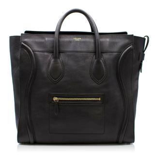 Celine Black Luggage Tote