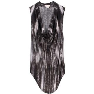 Helmut lang Patterned Black & White Top