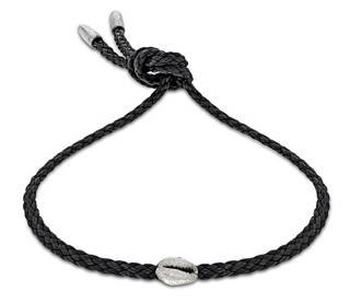 Luis Morais sterling silver Cord Shell Bracelet