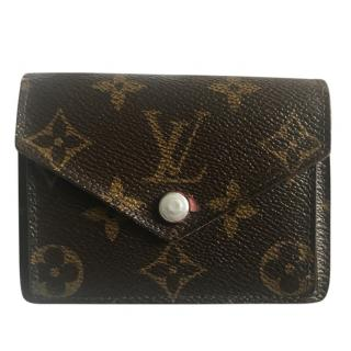 Louis Vuitton personalised wallet with SAM