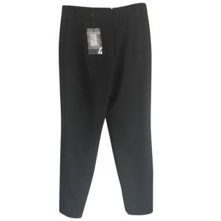 Alexander McQueen Slim Fit Black Trousers