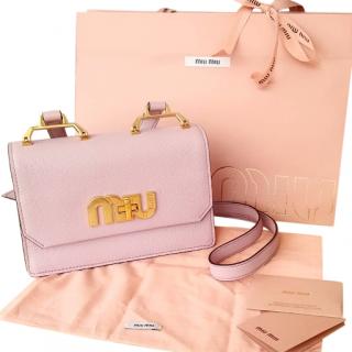 Miu Miu pink crossbody bag