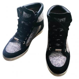 Jimmy Choo High Top Trainers