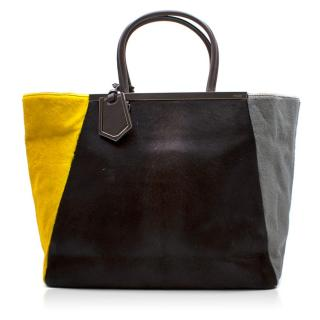 Fendi 2Jours Calf Hair Tote