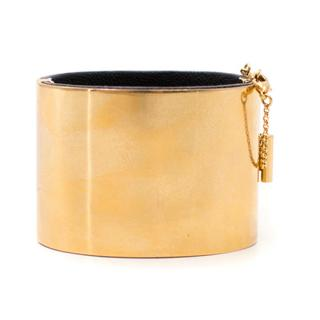 Celine Gold Tone Cuff