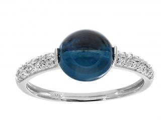 Naava Topaz & Diamonds Ring
