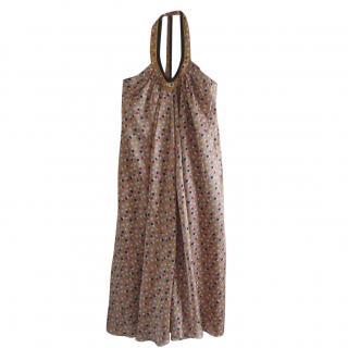 Kenzo halterneck silk dress