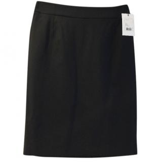Theory black Joanie pencil skirt