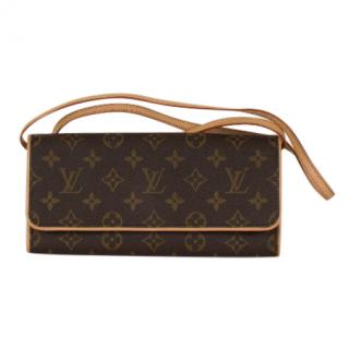 Louis Vuitton Monogram Pochette Twin GM Bag