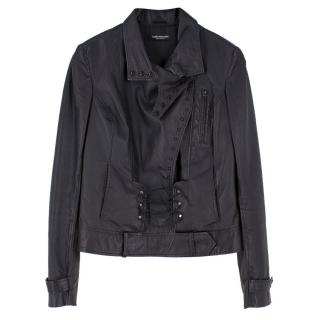 Sophia Kokosalaki Leather Biker Jacket